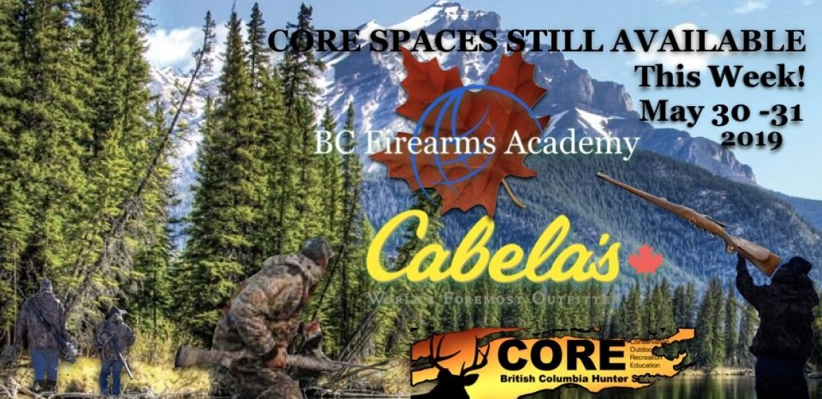 Space Available for this Week's CORE Course!