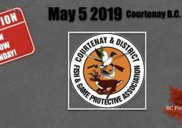 Courtenay B.C. Gun Show May 5, 2019