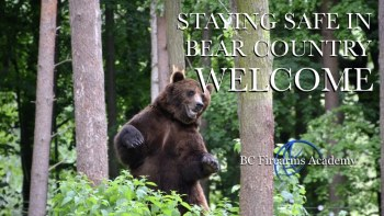 Welcome to the Free Online Bear Safety Resource & STAY SAFE in Bear Country Course