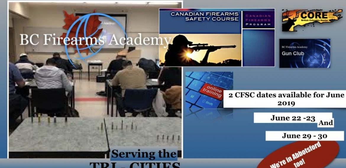 BC Firearms Academy in the Tri-Cities!