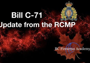 Update from the RCMP on Bill C-71