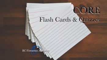 CORE Online Flash Cards & Quizzes