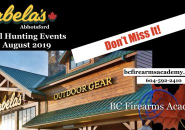 Cabela's Abbotsford Fall Hunting Events are Coming!