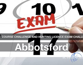 CORE Hunting License Exam Challenge: Abbotsford  Friday Sept 25