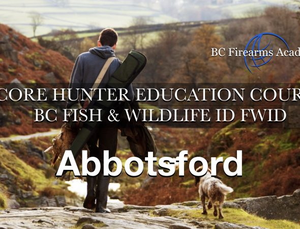 CORE Hunter Ed (FWID) ABBOTSFORD Saturday-Sunday May 15-16