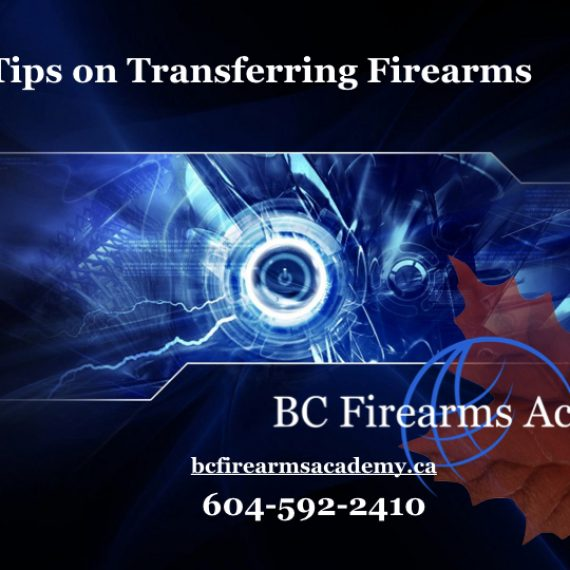 Tips on Transferring Firearms in Canada: Straight from the RCMP