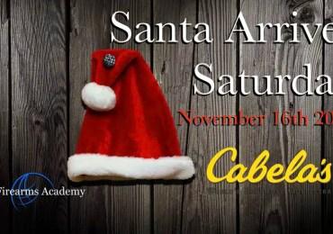 Santa Arrives At The Abbotsford Cabela's Tomorrow November 16th 2019
