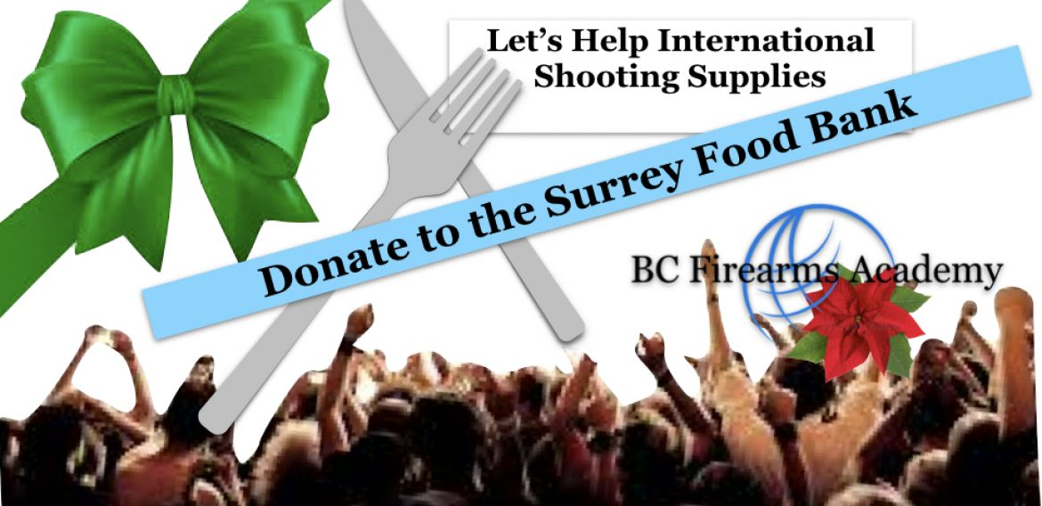 International Shooting Supplies generously donating to the Food Bank