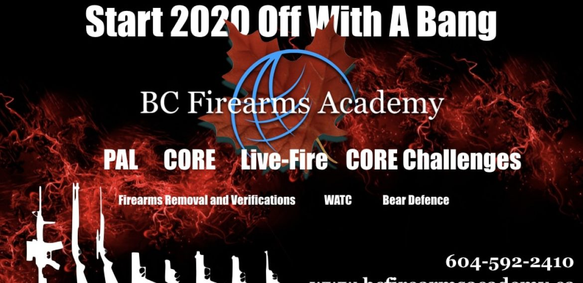 Start 2020 Off With A Bang!