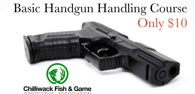 New Dates Add Basic Handgun Familiarization Courses at the CFGPA