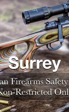 NON-RESTRICTED ONLY CFSC (non-restricted PAL) Surrey Thursday May 28