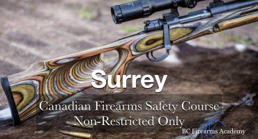 NON-RESTRICTED ONLY CFSC (non-restricted PAL) Surrey Monday July 20