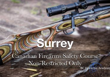 NON-RESTRICTED ONLY CFSC (non-restricted PAL) Surrey Friday August 21