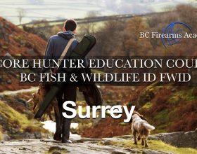 CORE Hunter Ed (FWID) SURREY Sat-Sun Sept 18-19