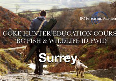 CORE Hunter Ed (FWID) SURREY/FLEETWOOD Thursday April 8 – Friday April 9