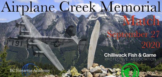 Airplane Creek Match September 27th, 2020