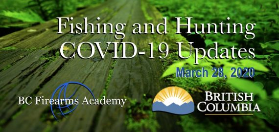 Fishing and Hunting COVID-19 Updates