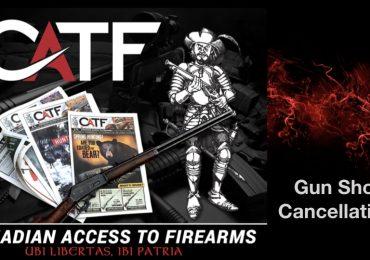 Gun Show Cancellations