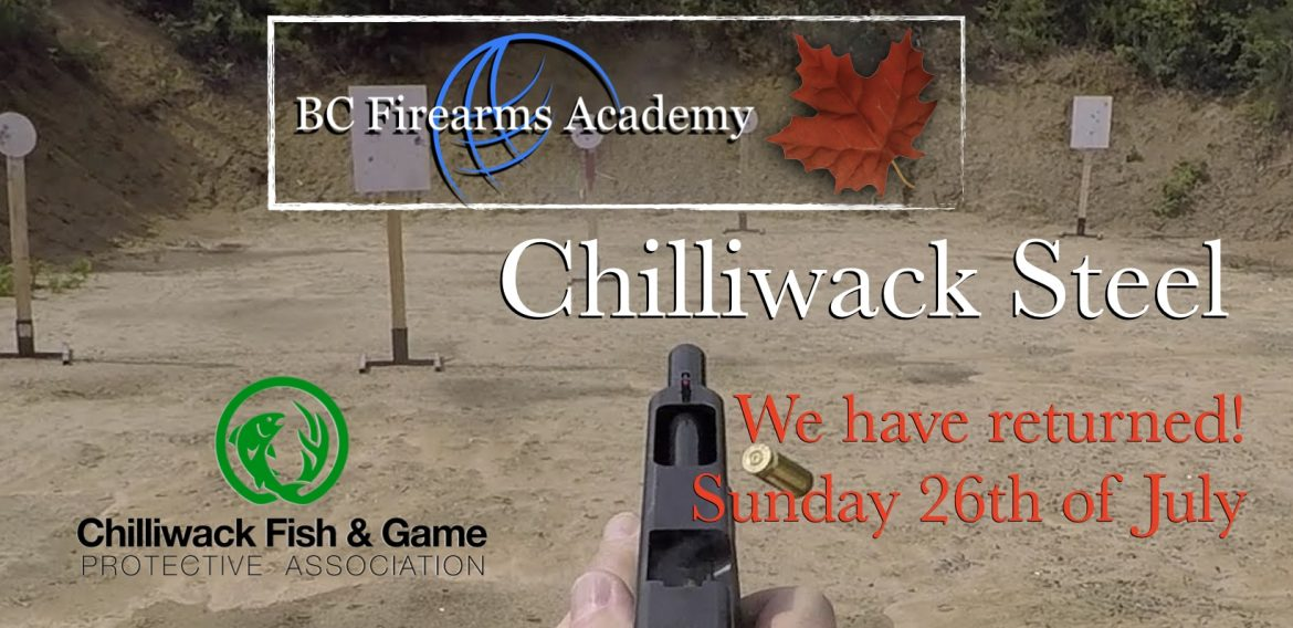 Chilliwack Steel Match on Sunday 26th