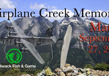 Reminder!! Airplane Creek Match September 27th 2020