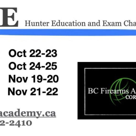 CORE Hunter Education Fall 2020