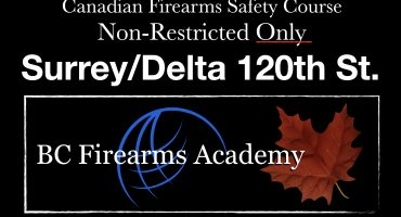 Non-Restricted CFSC (NON-RESTRICTED PAL) Surrey/Delta Friday Feb 5