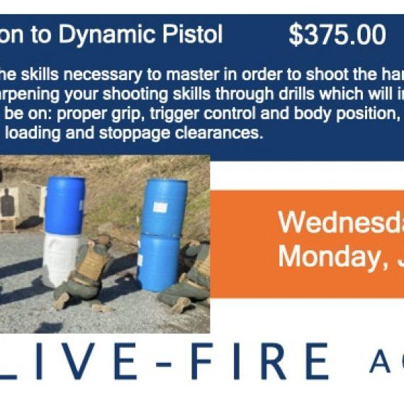 Spots Added June 30 Dynamic Pistol