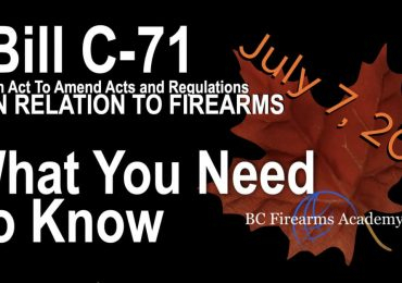 Bill C-71 What you need to know Effective on July 7, 2021