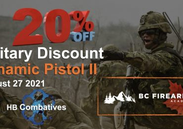 Military Discount for Dynamic Pistol IIAugust 27 2021