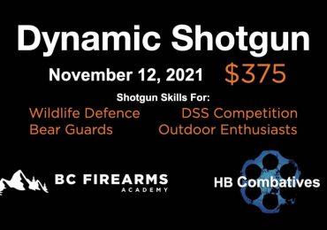Introduction to Dynamic Shotgun on Friday Nov 12 in Chilliwack