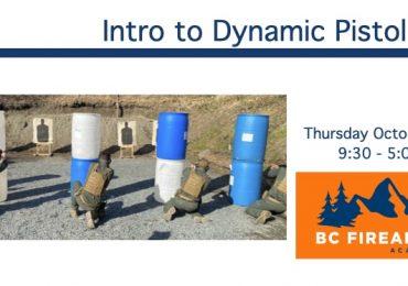 Intro to Dynamic Pistol 1 – Thursday Oct 21