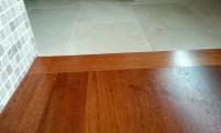 hardwood flooring transition to tile - Carpet, Laminate ...