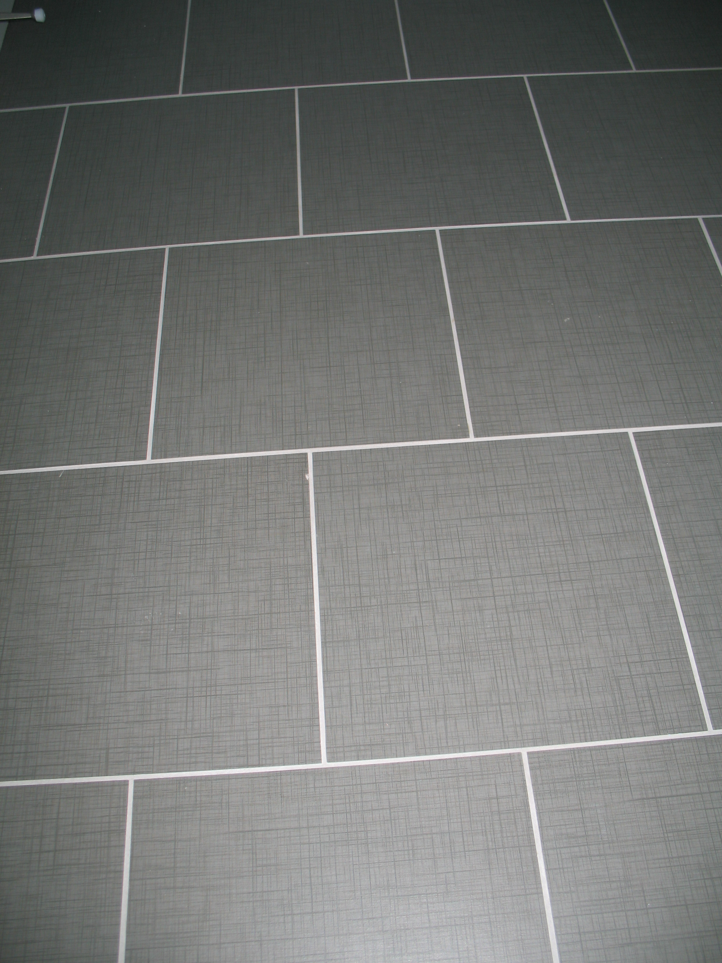 Brick Pattern Floor Tile Layout
