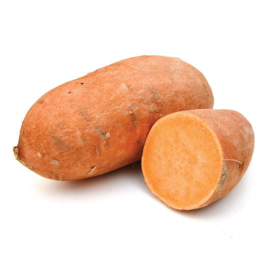 Sweet potato for dehydration