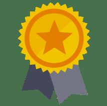 Transparent Award Ribbon Icon
