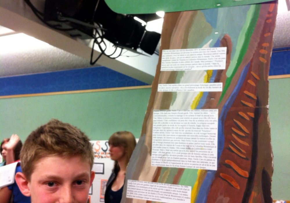 Design Display Reflects the Topic: Emily Carr
