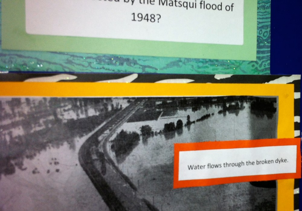 Use Primary Sources to Answer Research Question: What happened to the farmers during the Fraser River Flood?