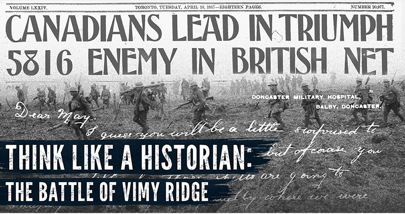 Still More Resources to Teach the Battle of Vimy Ridge