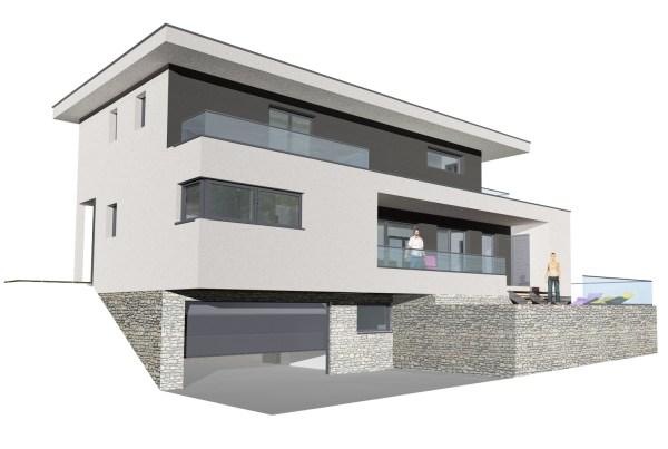 Maison toit plat Barby