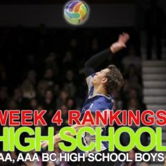 Week 4 Rankings