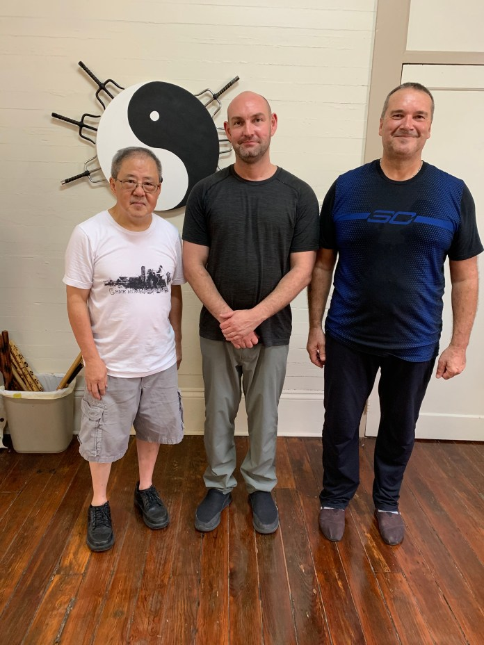 Great Tai Chi workshop in New Orleans this weekend; thank you Sifu Curtis Brough for teaching, and Sifu King Lam for coordinating it and for allowing us to use your Dojo. It deepened my practice immensely.
