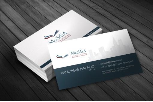 Cartão de Visitas – MSSA Advogados