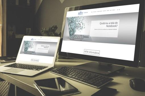 Website – HFW Informática