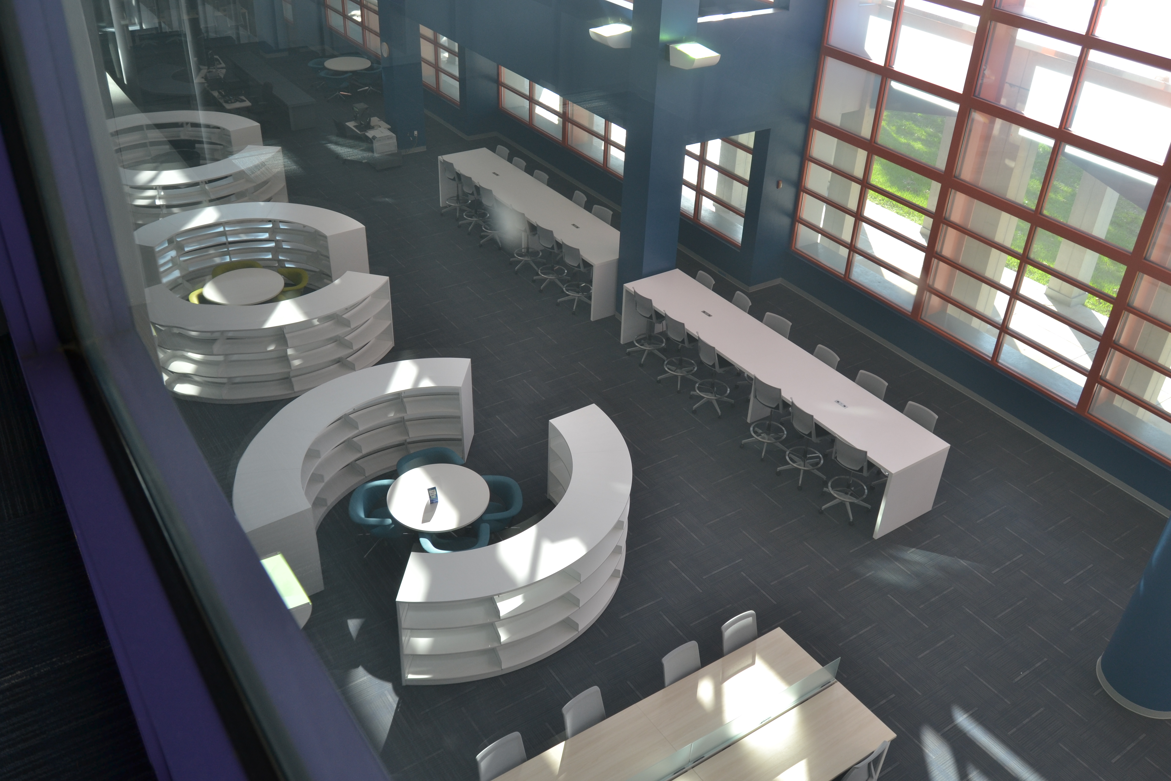 Modern Library Interior Design Archives  BCI