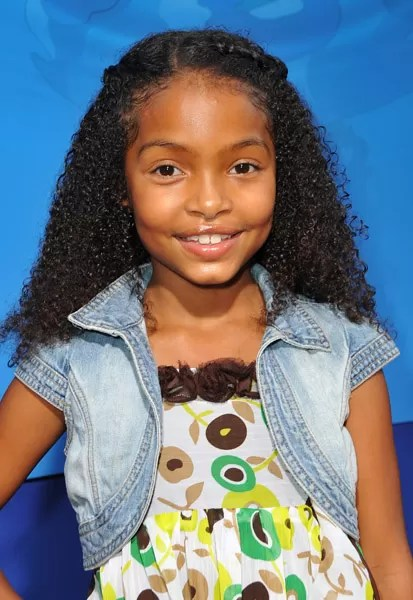 PINT SIZE ACTORS YARA SHAHIDI AND JADAGRACE HIT THE RED CARPET