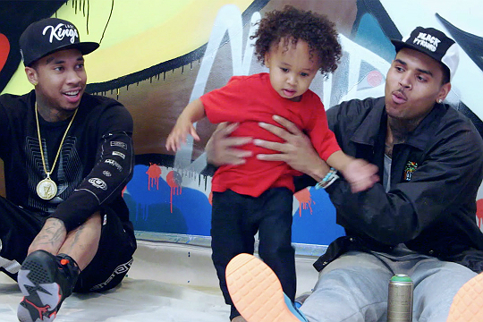 TV WATCH KING CAIRO APPEARS WITH DAD ON NEW SHOW KINGIN