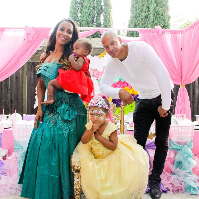 AMINA BUDDAFLY AND PETER GUNZ THROW THEIR DAUGHTER A UNICORN THEMED BIRTHDAY BASH