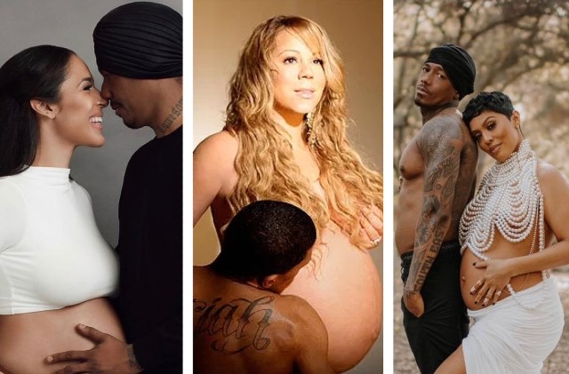 Fans: 'Nick Cannon At Least Shows up For His Baby Mamas Maternity Shoots'