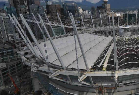UPDATE: BC Place construction photos: July 21, 2011