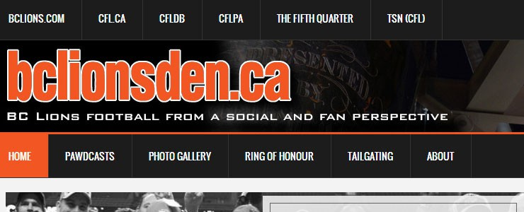 Welcome to The New BCLionsDen.ca!